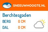 Recente sneeuwhoogte berchtesgadenerland