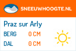 Wintersport Praz sur Arly