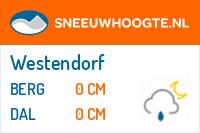 Recente sneeuwhoogte westendorf